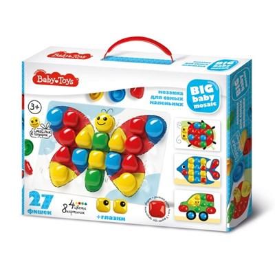 Мозаика для самых маленьких 27 элементов, 4 цвета - фото 4766