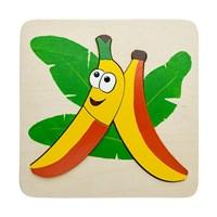 """Мозаика """"Банан"""", 3 детали"""